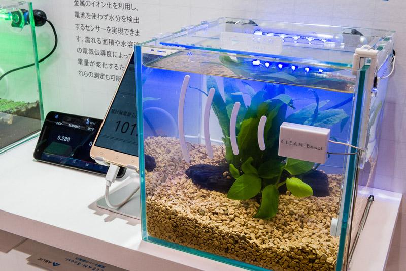 CLEAN-Boost® CEATEC2018出展 水分発電センサ